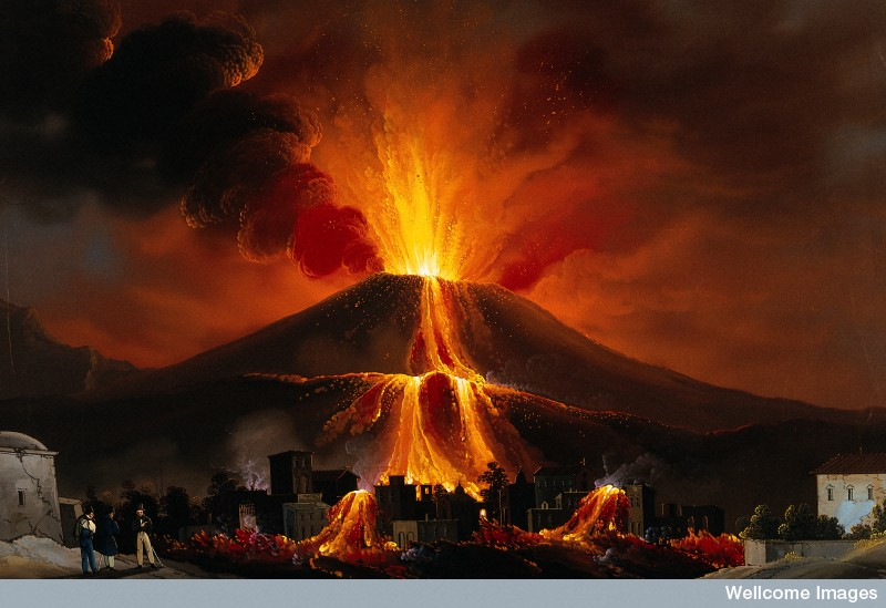 essay about volcanoes